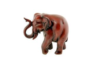 statue elephant trompe en l air en resine artisanat du nepal nep504 ebay. Black Bedroom Furniture Sets. Home Design Ideas