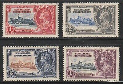 Somaliland P.  1935   Sc # 77-80   Silver Jubilee   MLH  (4039-1)