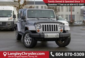 2013 Jeep Wrangler Unlimited Sahara *BLUETOOTH* * NAVIGATION*
