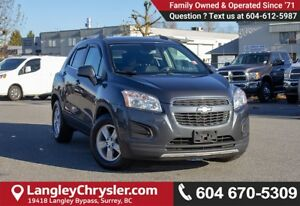 2014 Chevrolet Trax 1LT *ACCIDENT FREE* * LOCALLY DRIVEN*