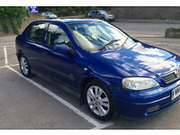 Vauxhall Astra 1.8 SXI 16V 120BHP Only 64K MILES 5 door Immaculate Con 12 Months MOT No Advisories