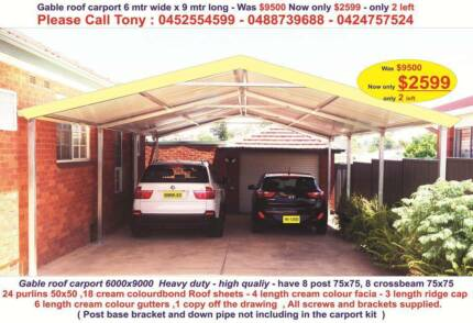 Carport roofing in new south wales gumtree australia free local