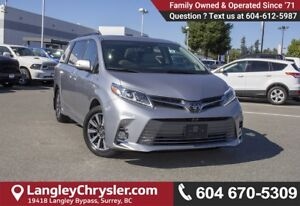 2018 Toyota Sienna XLE 7-Passenger <B>*LOCAL BC  *NO ACCIDENT...