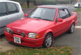 Ford escort Xr3i 1989 f reg £1200
