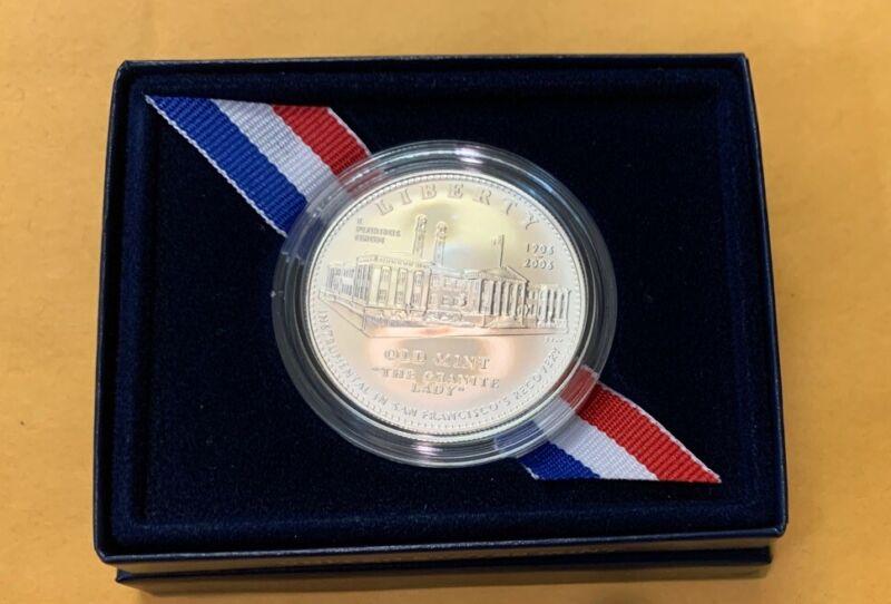 2006-S San Francisco Old Mint UNC Silver Coin OGP