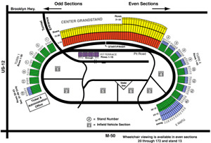 NASCAR TICKETS GREAT FATHER'S DAY GIFT