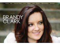 Two Brandy Clark Tickets Weds Evening 21st September Oran Mor Glasgow £20 ea. Face Value