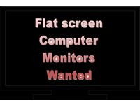 Flat screen Computer monitors - WANTED! As well as old tech!