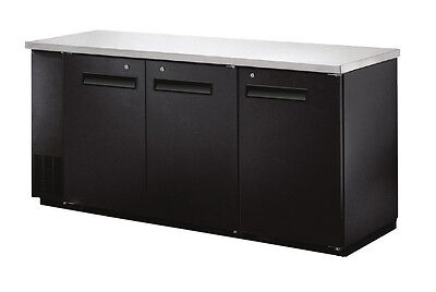 Omcan Ubb-24-72f 72.8x24.4x36.2-inch Refrigerated Back Bar Cooler With Stainles