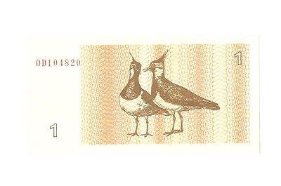 Litauen Banknote 1 Talonas 1992