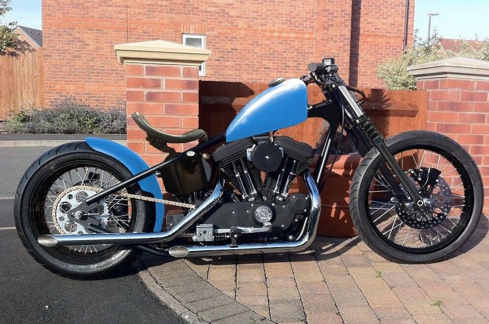 Harley Sportster Hardtail Bobber