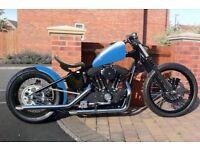 Harley Davidson NEW Paughco hardtail Sportster 1200 engine bobber chopper
