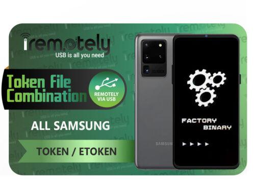 Samsung Token / eToken File To Flash Combinations [ All Samsung ]⚡ INSTANT