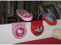 Hello Kitty and Cars Clip-On LED kids Bed Light