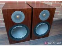 Monitor audio silver 100 walnut