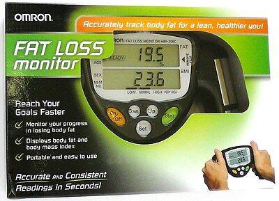 Hbf 306Cn Omron Body Fat Loss Bmi Analyzer  Monitor  Black