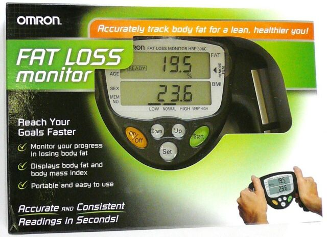 omron body fat weight loss monitor analyzer bmi mass scale digital