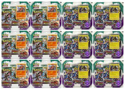 Pokemon Sun & Moon Guardians Rising 3 Blister Packs x12 , Booster Box Equivalent