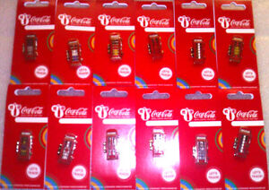 LONDON 2012 OLYMPICS COCA COLA WELCOME TO THE GAMES TELEPHONE BOX PIN BADGES