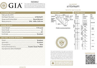21.51 ct Round Diamond Tennis Bracelet 18k white Gold 27 x 0.73-0.78 ct GIA F VS 1