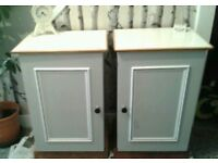 Bespoke Bedside Cabinets ....free local delivery. ..