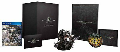 New Ps4 Monster Hunter World Collectors Edition Dlc Playstation 4 Japan Import
