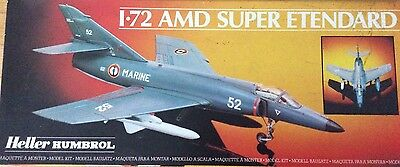 HELLER AMD SUPER ETENDARD 1:72 Scale Model Kit 80360