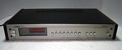 Amber Model 7 AM-FM Stereo Tuner==Nice!