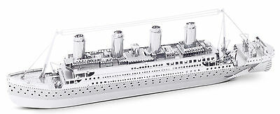 Titanic 3D-Metall-Bausatz Silver-Edition Metal Earth 1030
