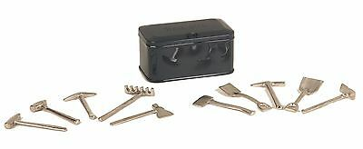 11-90039 Dark Gray No. 208 Tools And Chest - Tinplate