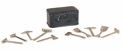 11-90039 Dark Gray No. 208 Tools And Chest - Tinplate