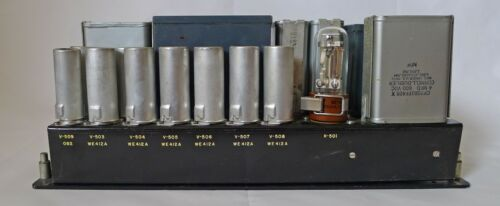1955 AEROFLEX DUAL TUBE POWER SUPPLY WESTERN ELECTRIC TUBES AMP PRE AMPLIFIER