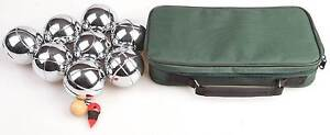 NEW ON SALE - Deluxe Boules Bocce 8 Alloy Ball Set Silverwater Auburn Area Preview