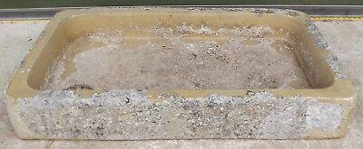 Antique Victorian Salt Trough / Shallow Sink - Would Make a Nice Planter