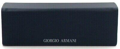 Giorgio Armani Brillenetui Hardschalenetui Sonnenbrille metallic dunkelblau