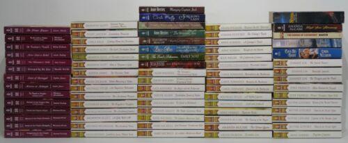 "Vintage ""Harlequin Historical Romance"" series Huge Lot Of 76 Books"