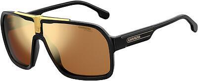 NEW Carrera CA 1014 Sunglasses 0I46 Black Gold 100% AUTHENTIC