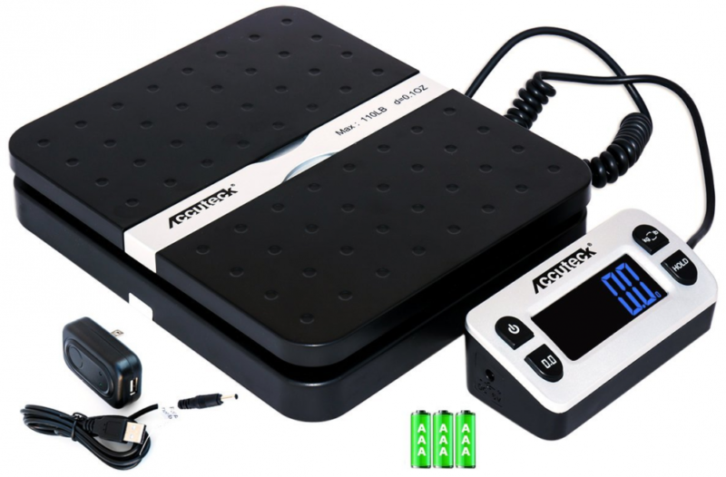110lbs Digital Shipping Postal Scale Weigh Ship for UPS USPS