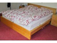 Double bed. IKEA.