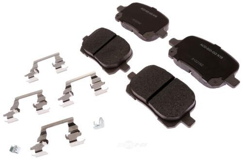 ACDelco 14D1084CHF1 Advantage Disc Brake Pad Set
