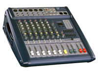 Powered mixer 500 watt