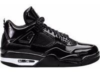 Nike Air Jordan 11Lab4 'Black Patent' Size UK 10.5 11 11.5 13 Brand New