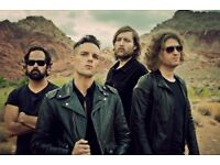 The Killers Lower Tier Tickets - Sheffield Arena - Saturday 25th November - £125 each.