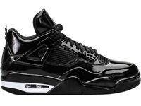 Nike Air Jordan 11Lab4 'Black Patent' Size UK 10.5 11.5 13 Brand New
