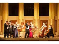 Ushers needed for Vivaldi Four Seasons concert - Saturday 24 September