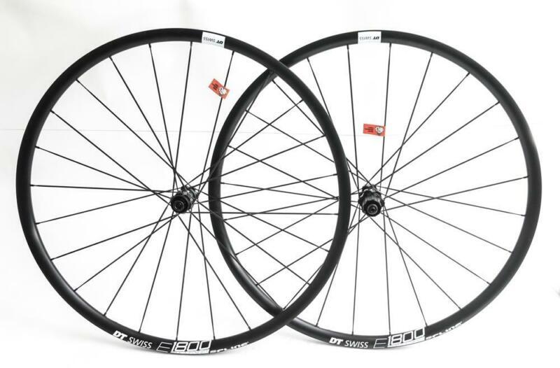 DT Swiss E1800 Spline Cyclocross Road Bike 700c Wheelset Disc 11s NEW