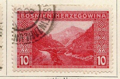 Bosnia Herzegovina 1906 Early Issue Fine Used 10h. 047194