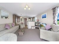 Luxury Static Caravan for sale with decking included on 5* Family Park- North wales in snowdonia
