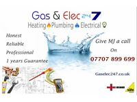 Heating Gas Engineer, Plumber, Electrician