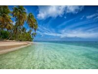 One Way Flight Ticket - Manchester to Tobago - departing 14/01. 1 or 2 tickets for sale